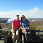 Nancy Gifford and Barbara Gula in Hawaii